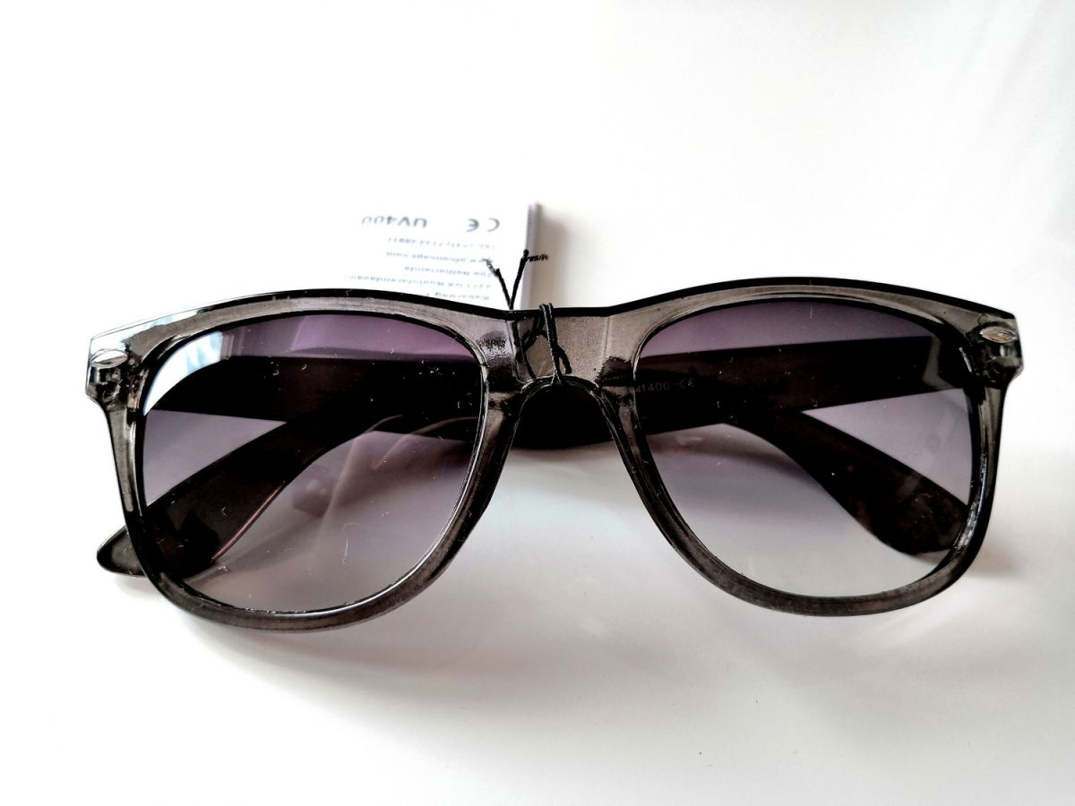 Sluneční brýle s UV černé - zakázanÝovoce