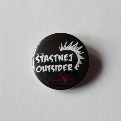 Placka Šťastnej Outsider 32 mm - zakázanÝovoce