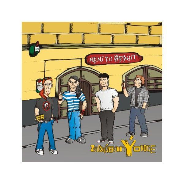 CD Není co řeshit - zakázanÝovoce (2008)