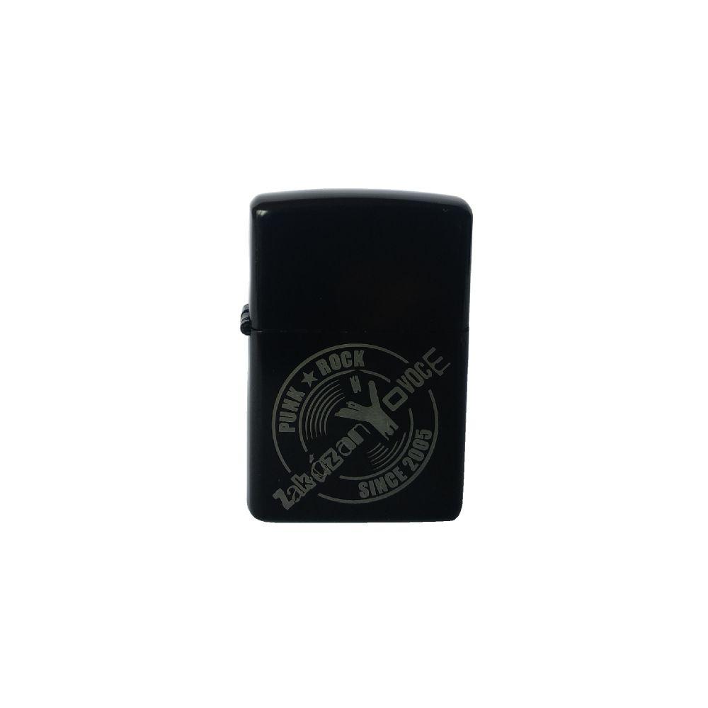 Zapalovač benzínový černý logo - zakázanÝovoce